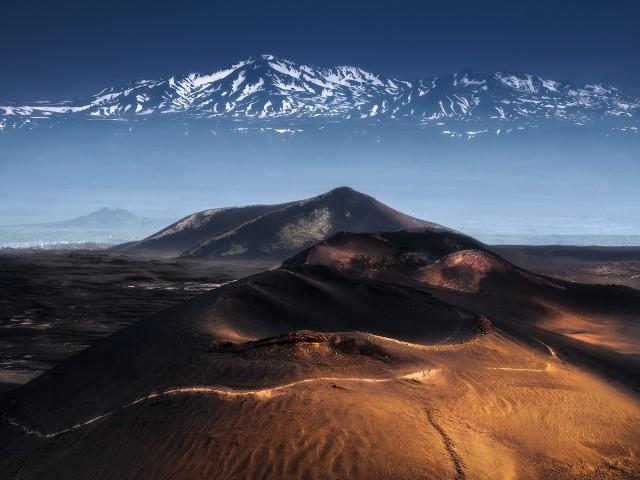 Призрачные горы, Камчатка. Автор Изабелла Табаччи