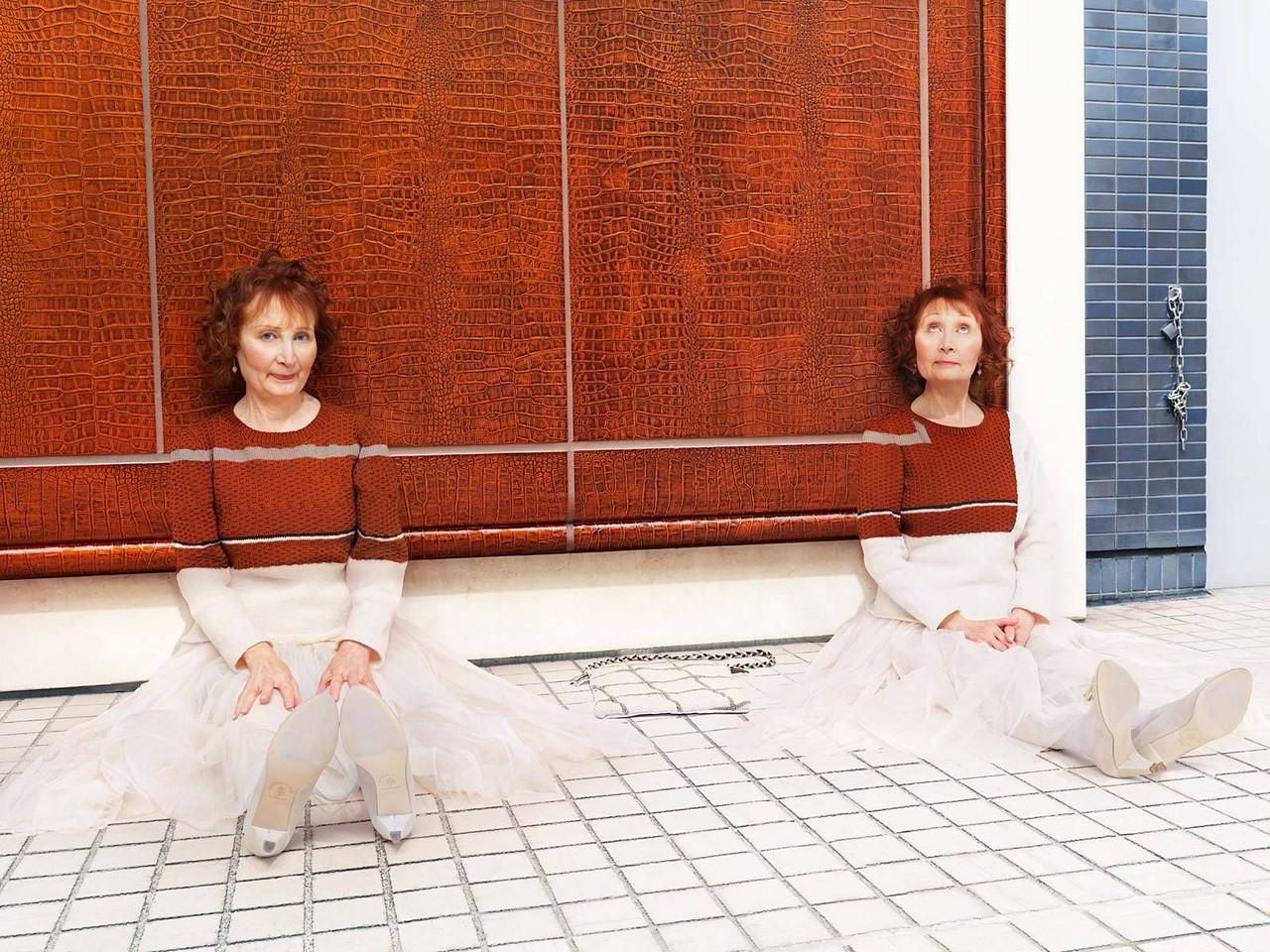 Парижские близнецы Мэди и Монетт Малру. Автор Джозеф Форд
