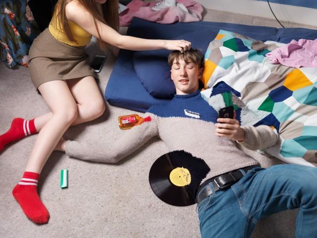 Трикотажный камуфляж: «Невидимые джемперы» Джозефа Форда