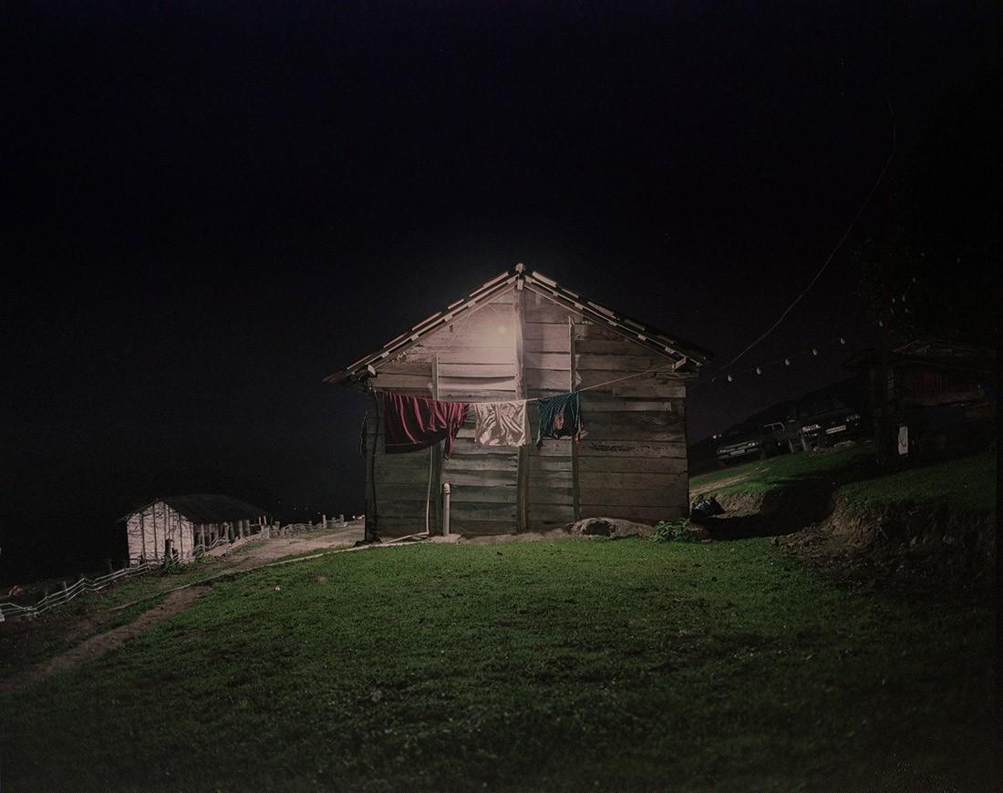Финалист в категории «Ночная фотография», 2020. Плёночный снимок из путешествия в горы Ирана. Автор Алиреза Фани