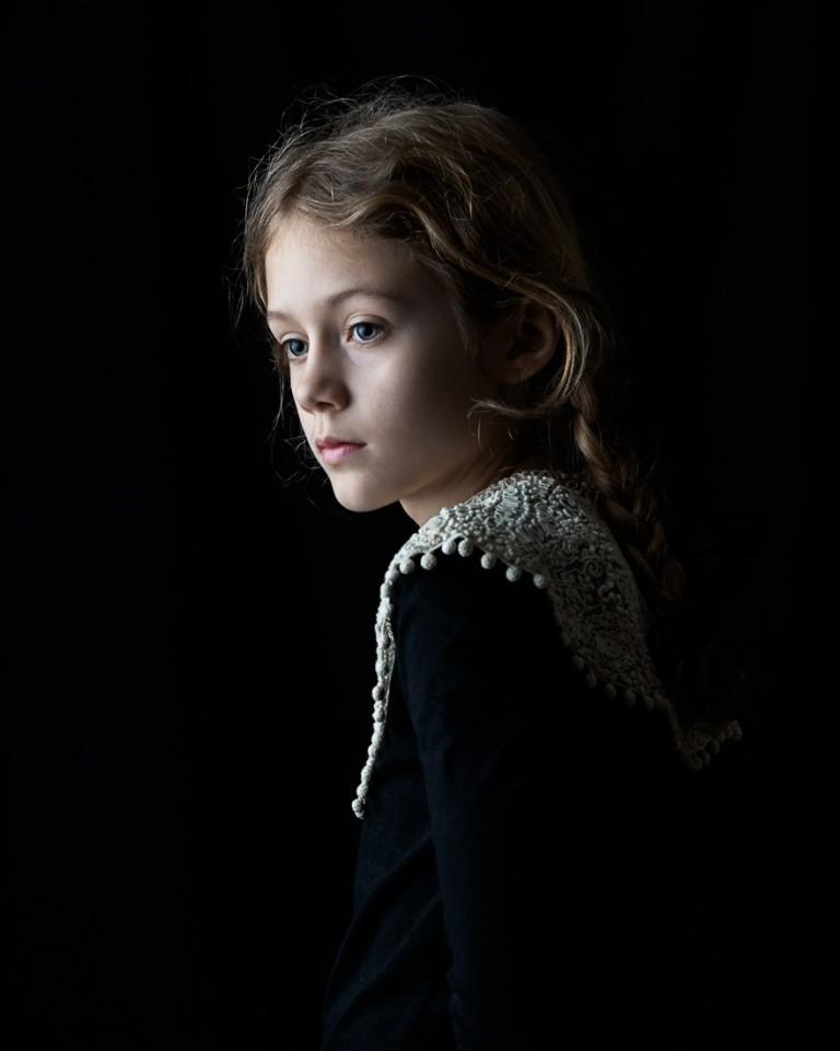 Финалист в категории «Портрет», 2020. «Кружевной воротник». Автор Иса Бекаерт
