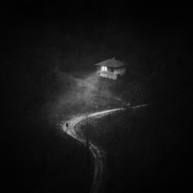 Финалист в категории «Фотоманипуляции», 2020. «Вечный дом». Автор Мохаммад Юсефи Манеш