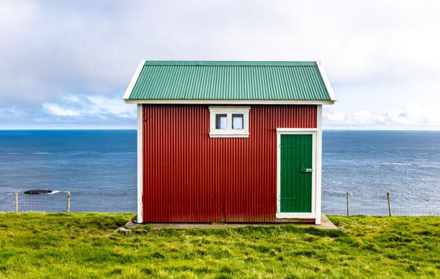 Финалист в категории «Архитектура», 2021. «Яркая простота». Постройка на Фарерских островах. Автор Спиридон Геннатас