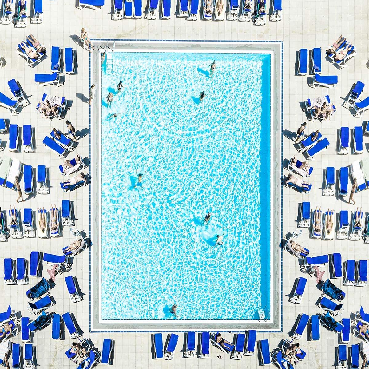 2 место в категории «Аэрофотосъёмка», 2021. «Бассейн, Барселона 2019». Автор Гизель Фернандини