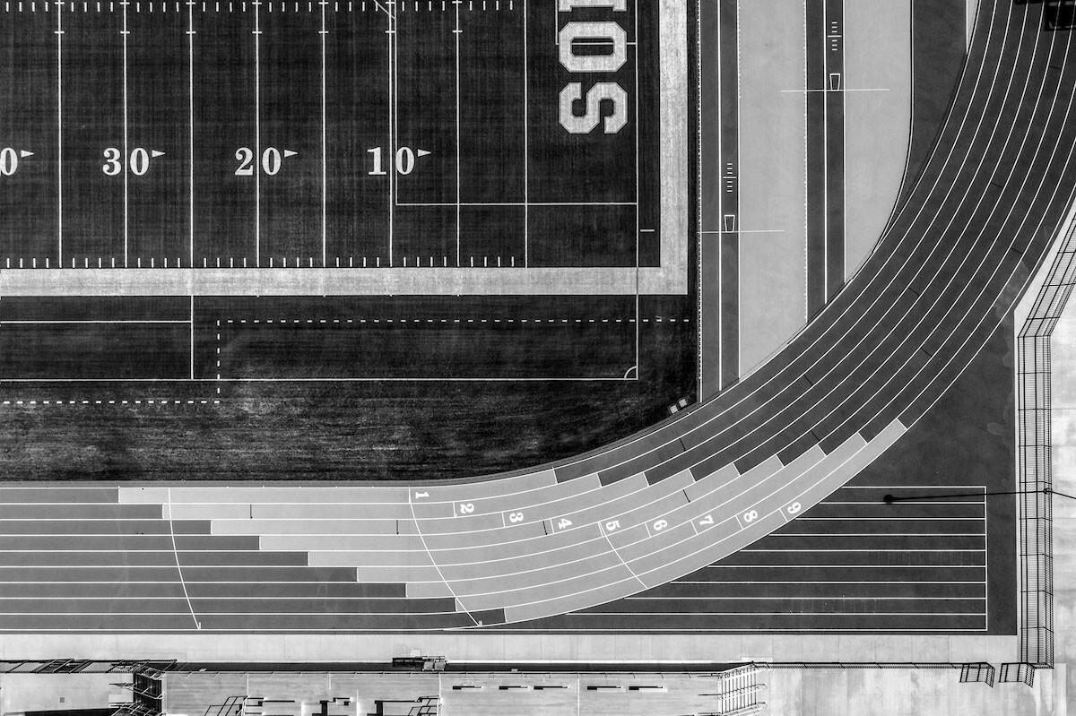 3 место в категории «Аэрофотосъёмка», 2021. «Спортивный комплекс для верховой езды». Автор Пол Туранг