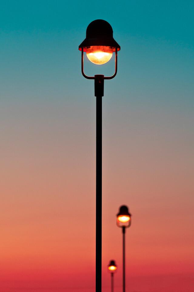 Финалист в категории «Файн-арт», 2021. «Уличные фонари». Автор Мануэль Шмидт
