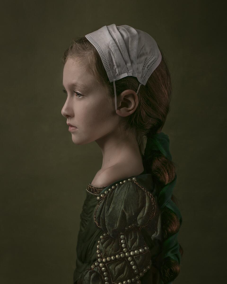 Финалист в категории «Портрет», 2021. «Девушка года 2020». Автор Каат Штибер