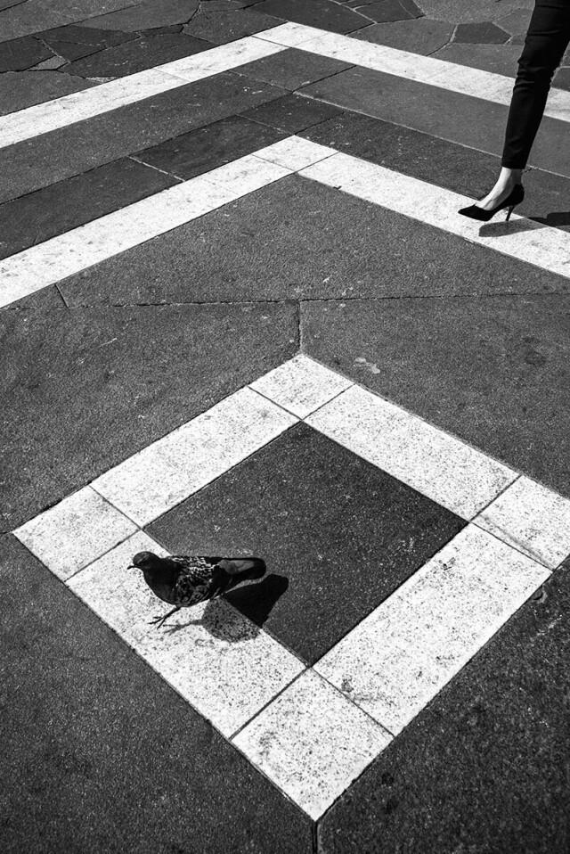 3 место в категории «Уличная фотография», 2021. «Уличные угощения». Автор Фред Мортань