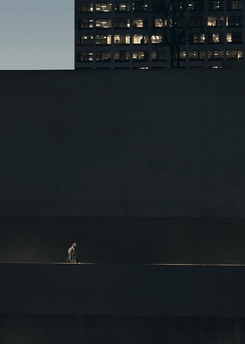 1 место в категории «Ночная фотография», 2019. Ночью в центре Лос-Анджелеса. Автор Лейф Петерсен
