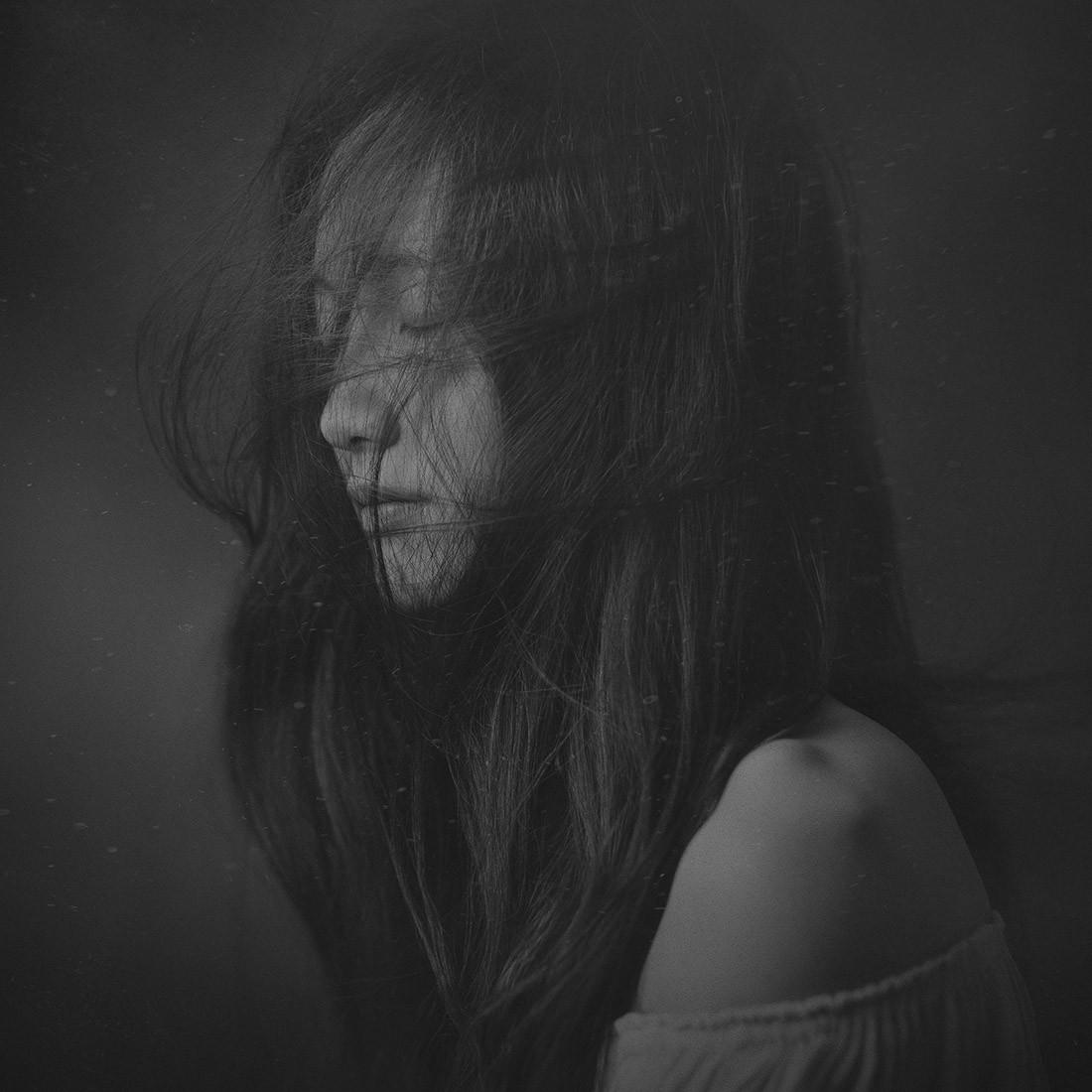 2 место в категории «Портрет», 2019. «Всё приносит ветер». Автор Саксин Чжан
