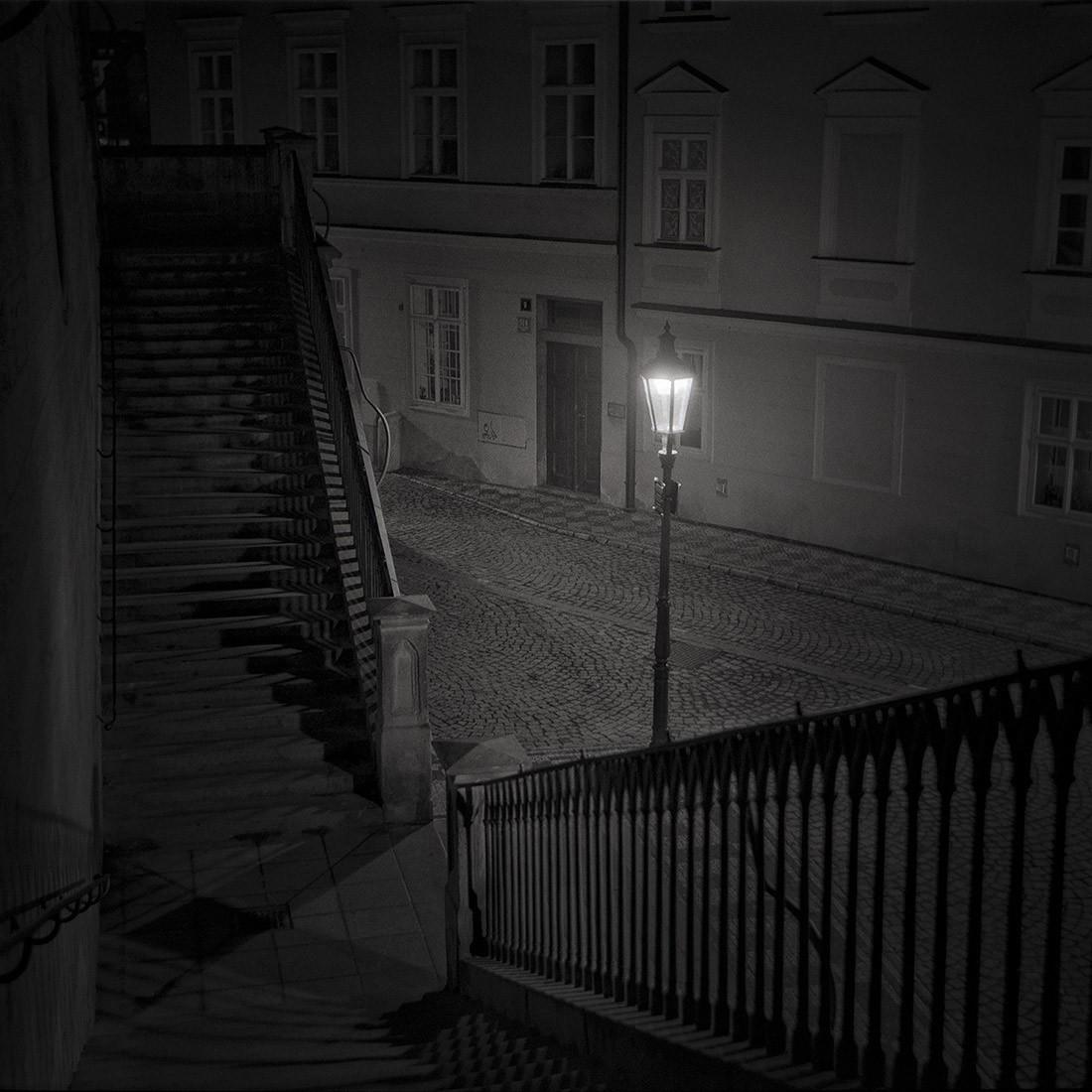 3 место в категории «Ночная фотография», 2019. Ночь в Праге. Автор Шарлотта Джиллиатт