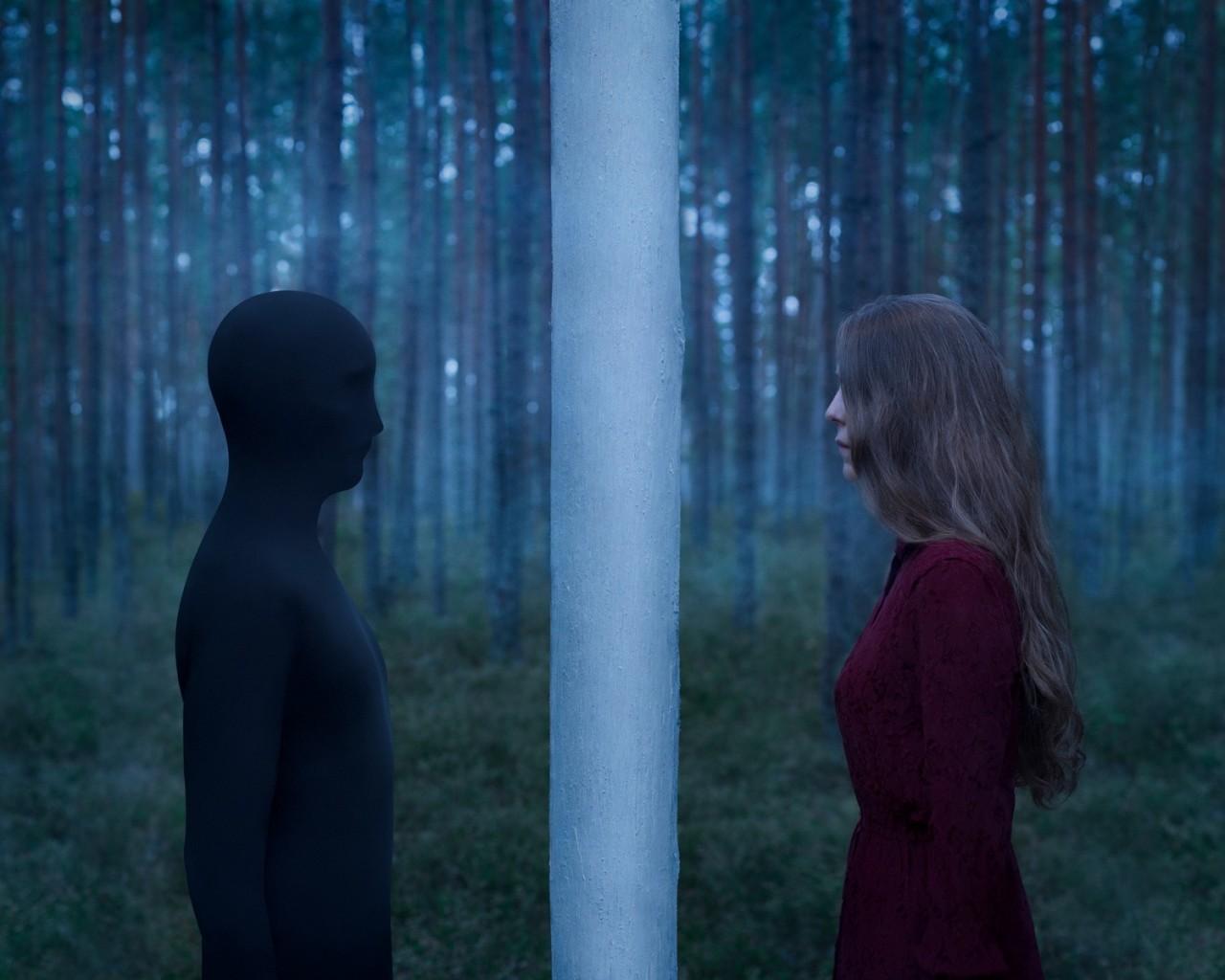 «Девушка и Тень (прелюдия)». Автор Габриэль Исак