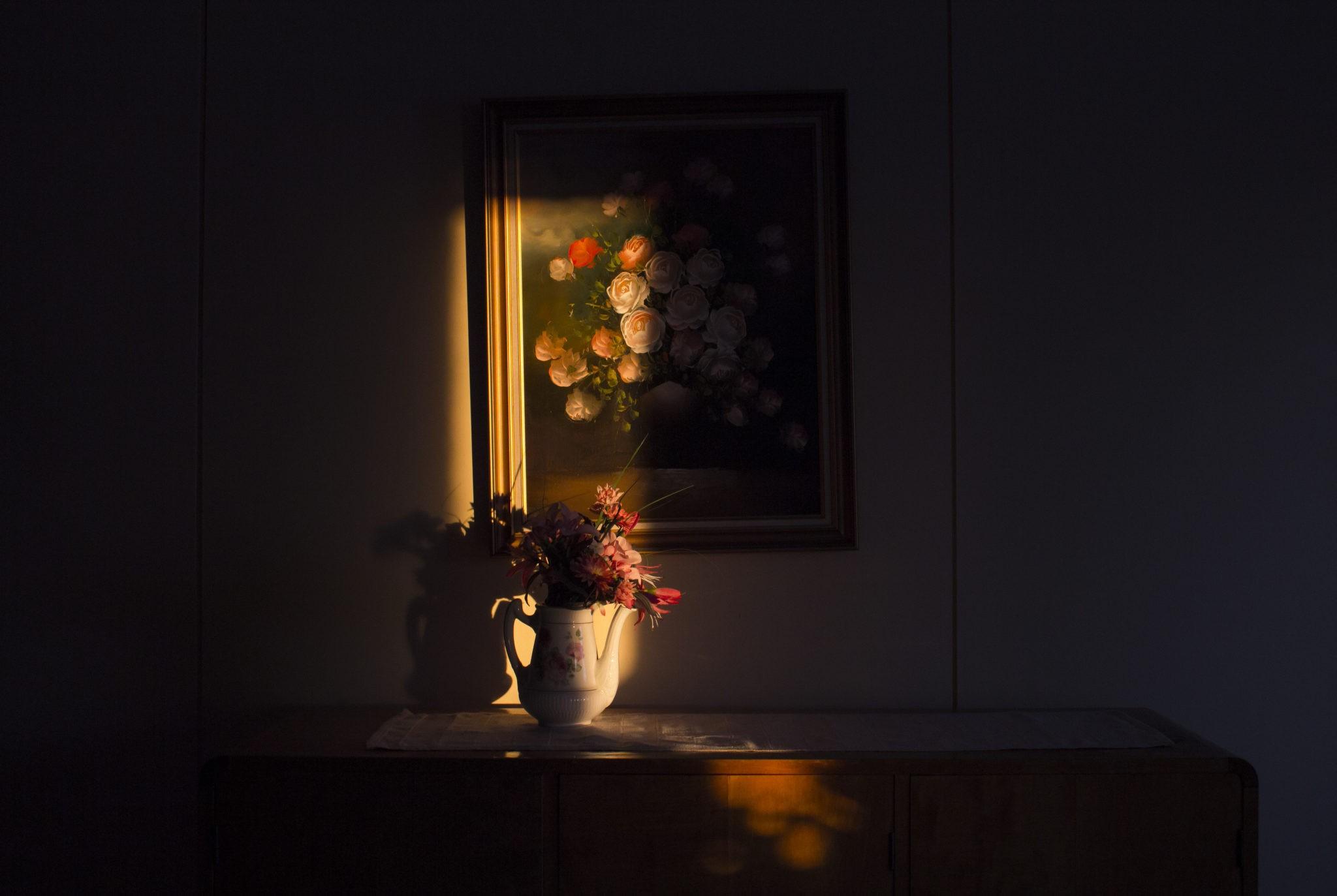 «В доме бабушки и дедушки». Из фотопроекта «Какой-то небесный огонь». Автор Мария Лакс