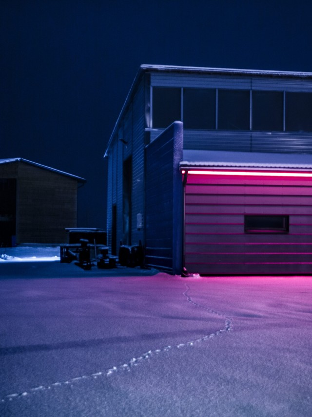 «Ноеновый свет». Из фотопроекта «Какой-то небесный огонь». Автор Мария Лакс
