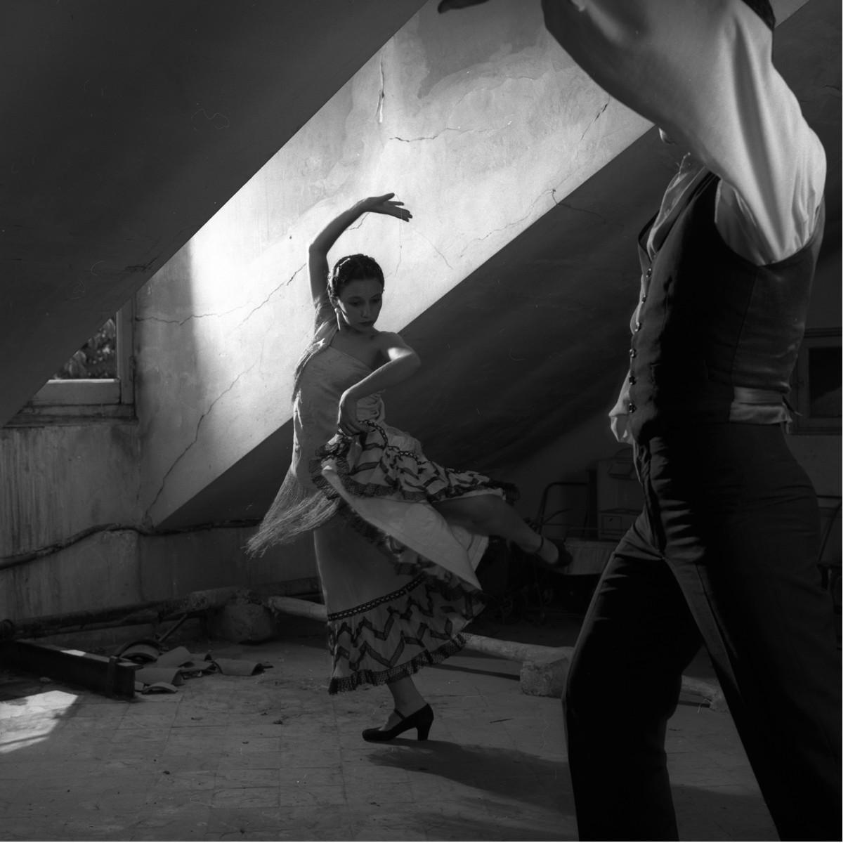 Из фотопроекта «Фламенко, 1989». Автор Изабель Муньос (5)