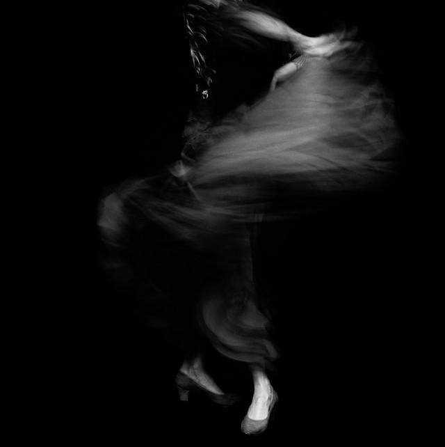 Из фотопроекта «Фламенко, 1989». Автор Изабель Муньос (8)