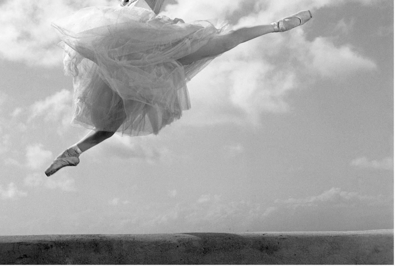 Из фотопроекта «Национальный балет Кубы, 2001». Автор Изабель Муньос (1)