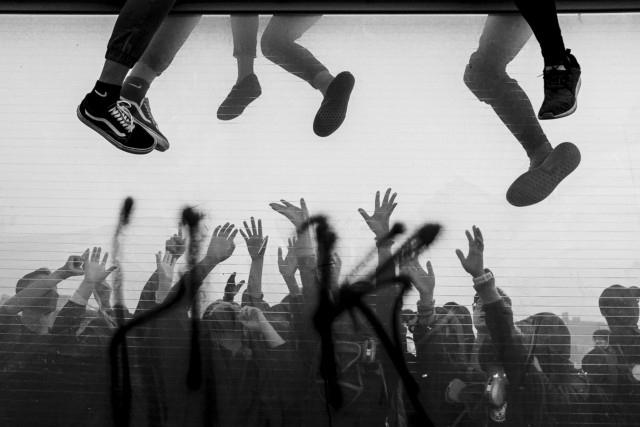 1 место в номинации «Фотографа года» среди профессионалов, 2020. «Митинг за свободный Гонконг». Автор Кейт Цуджи