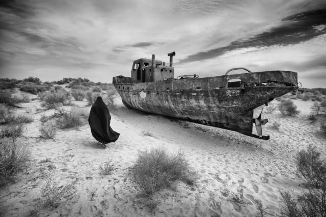 1 место в категории «Файн-арт» среди любителей 2019. «Корабль в песках». Автор Амардип Сингх