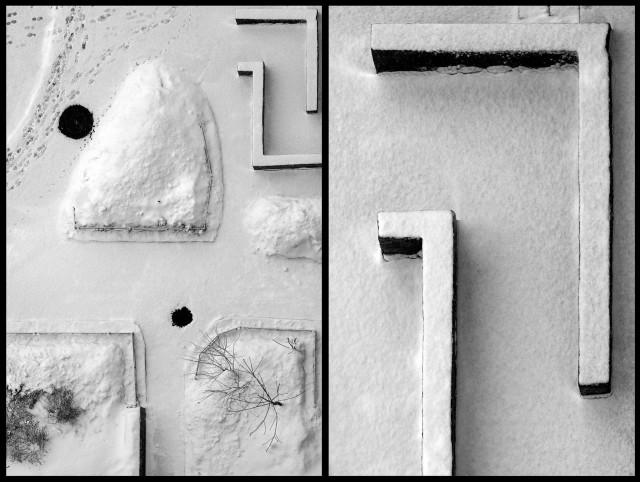 2 место в категории «Аэрофотография» среди любителей 2019. «Зимняя геометрия». Автор Станислав Ситников