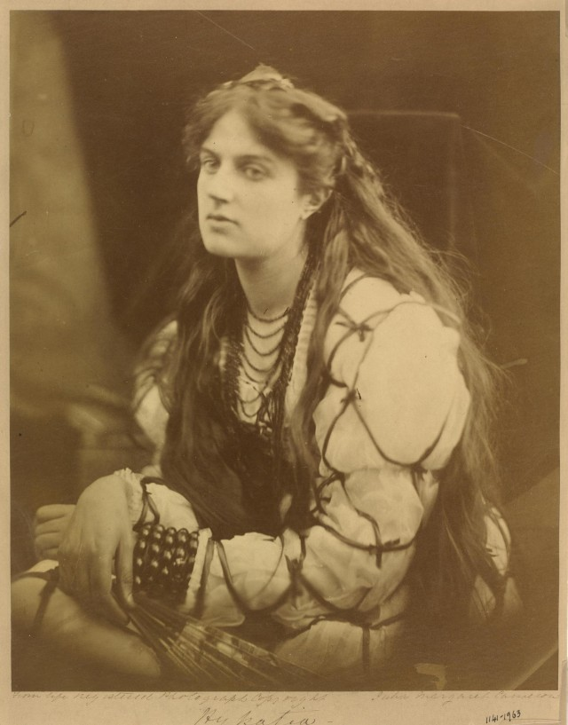 «Гипатия», 1868. Автор Джулия Маргарет Камерон