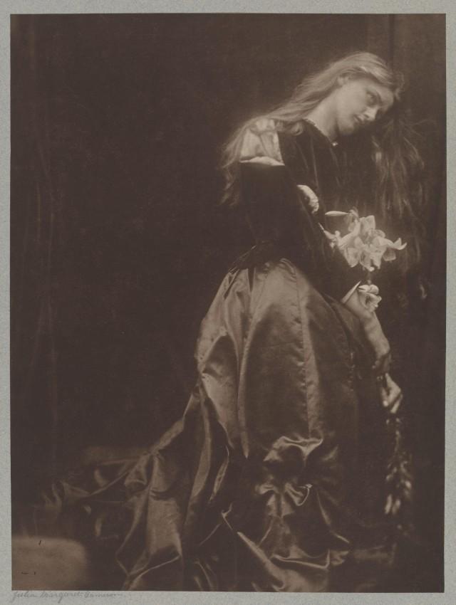 «Гретхен», 1870. Автор Джулия Маргарет Камерон