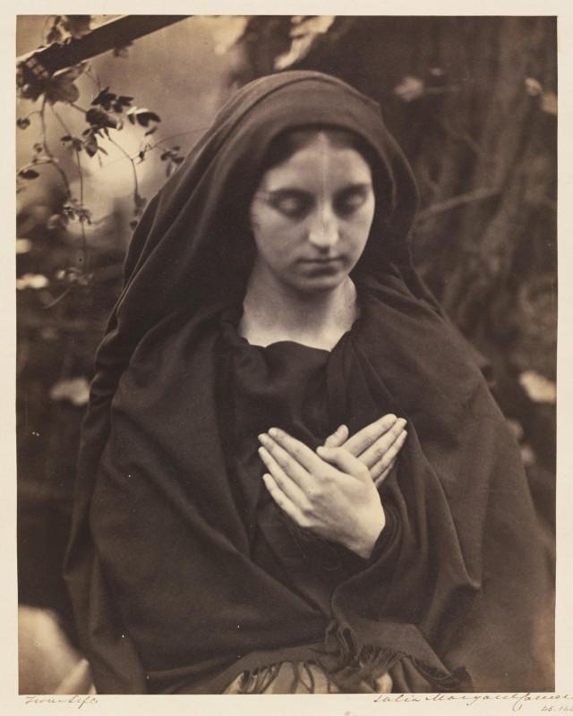 «Il Penseroso», 1865. Автор Джулия Маргарет Камерон