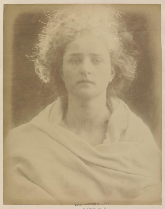 «Аврора, богиня зари», 1868. Автор Джулия Маргарет Камерон