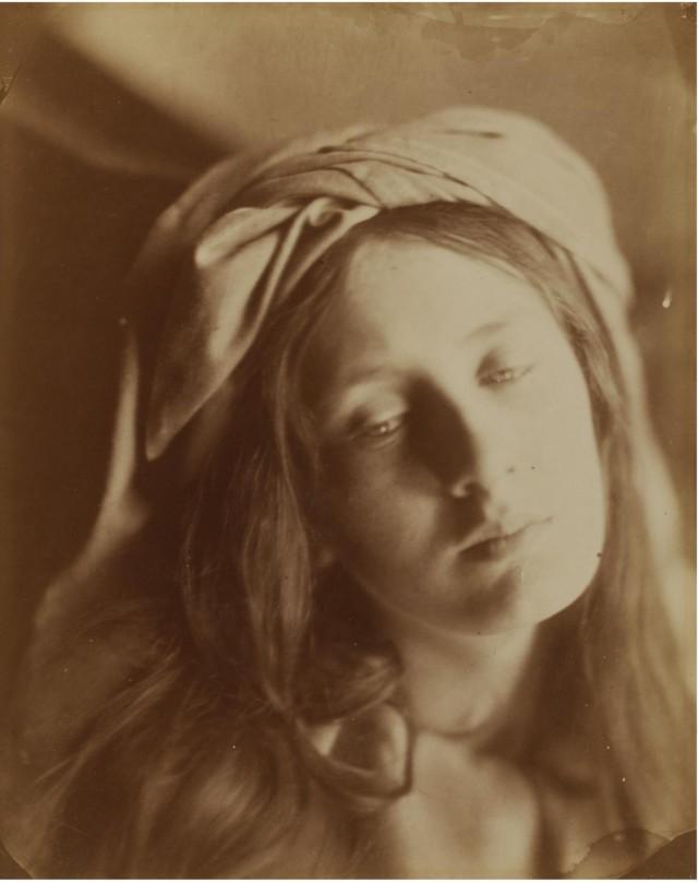 «Беатрис», 1866. Автор Джулия Маргарет Камерон