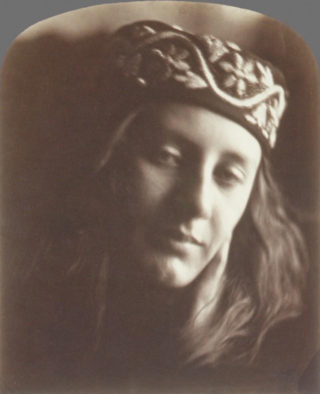 «Зоя, дева Афин», 1866. Автор Джулия Маргарет Камерон