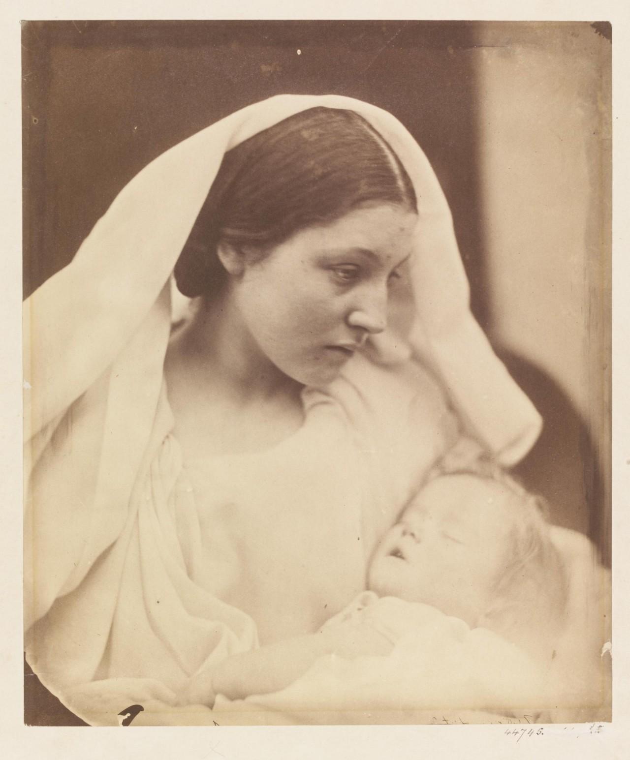 «Мадонна», 1864. Автор Джулия Маргарет Камерон