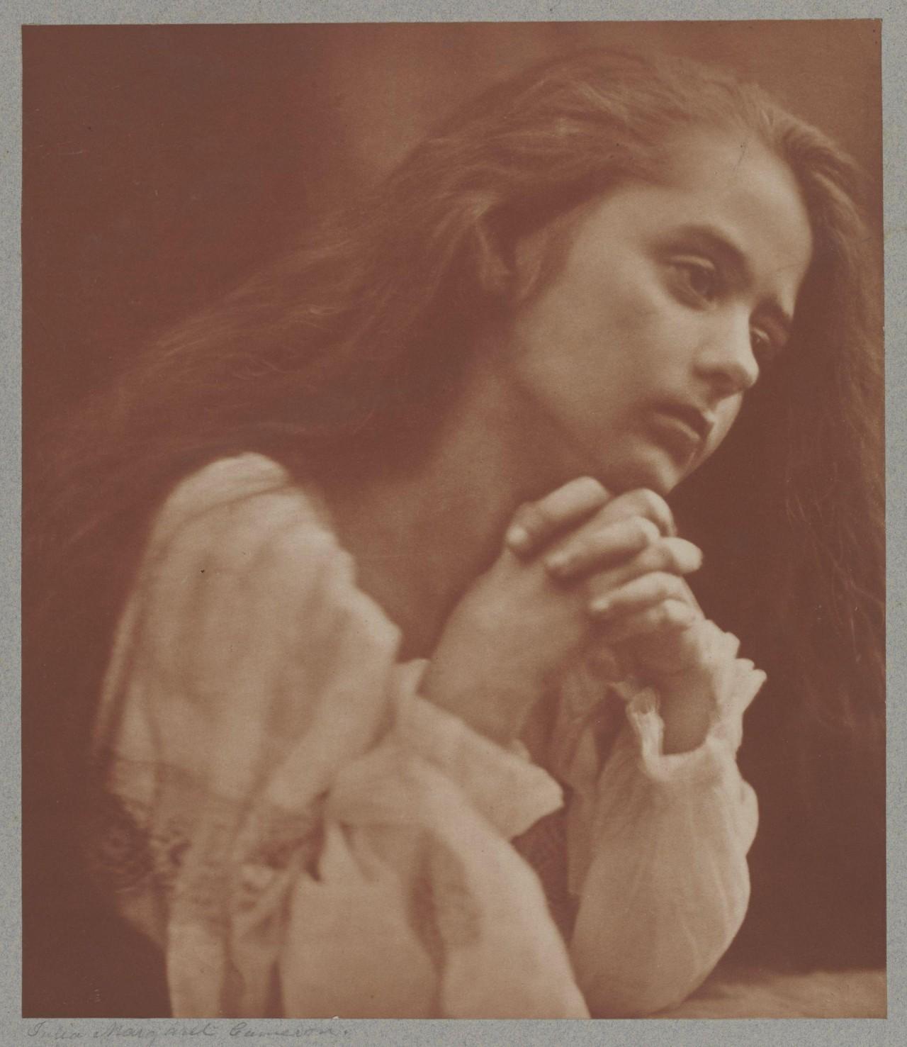 «Молитва», 1866. Автор Джулия Маргарет Камерон