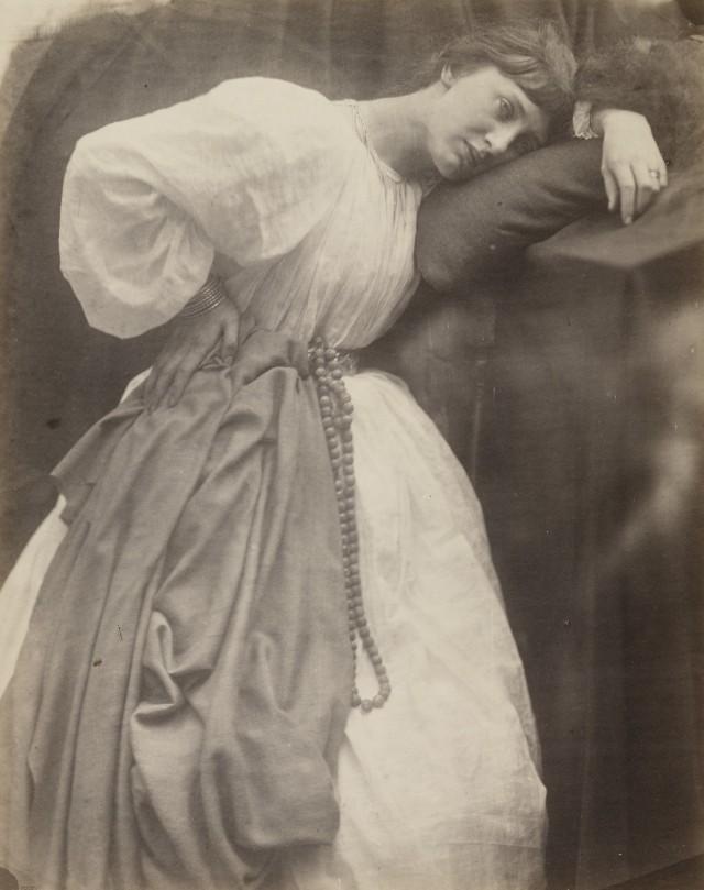 «Прерафаэлитский этюд», 1870. Автор Джулия Маргарет Камерон