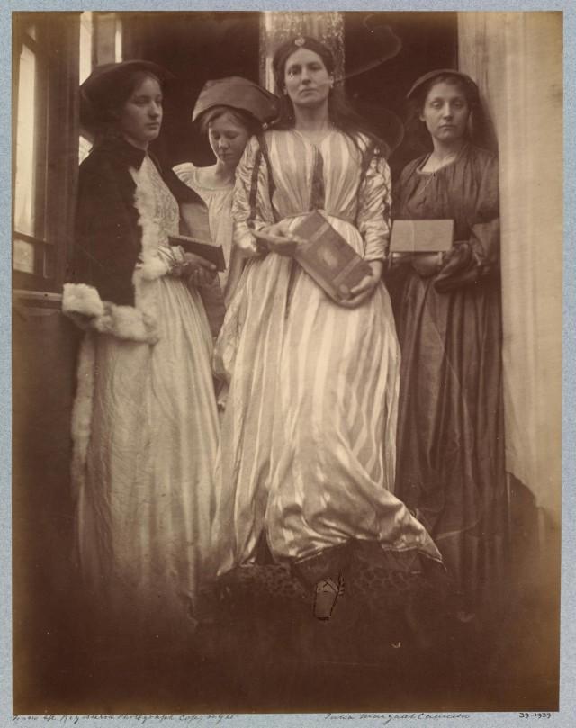 «Принцесса», 1875. Автор Джулия Маргарет Камерон