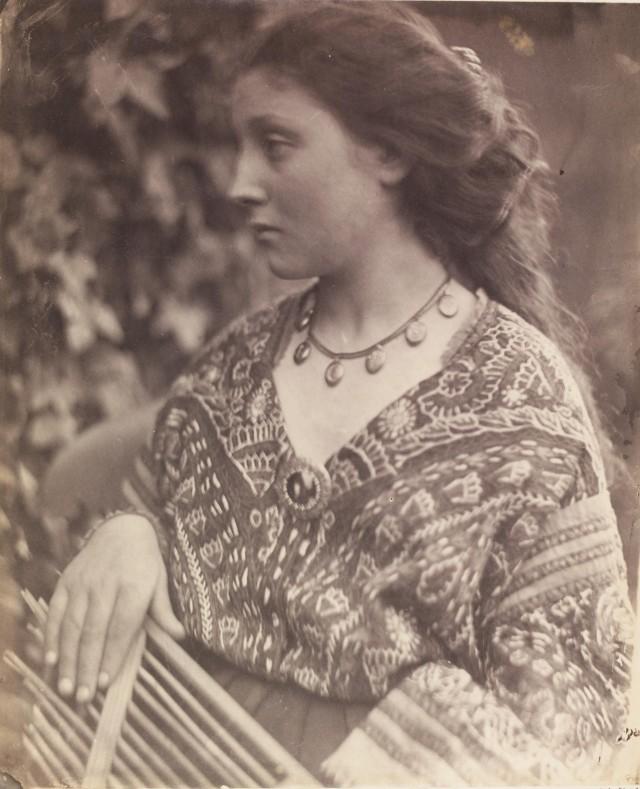 «Сафо», 1865. Автор Джулия Маргарет Камерон