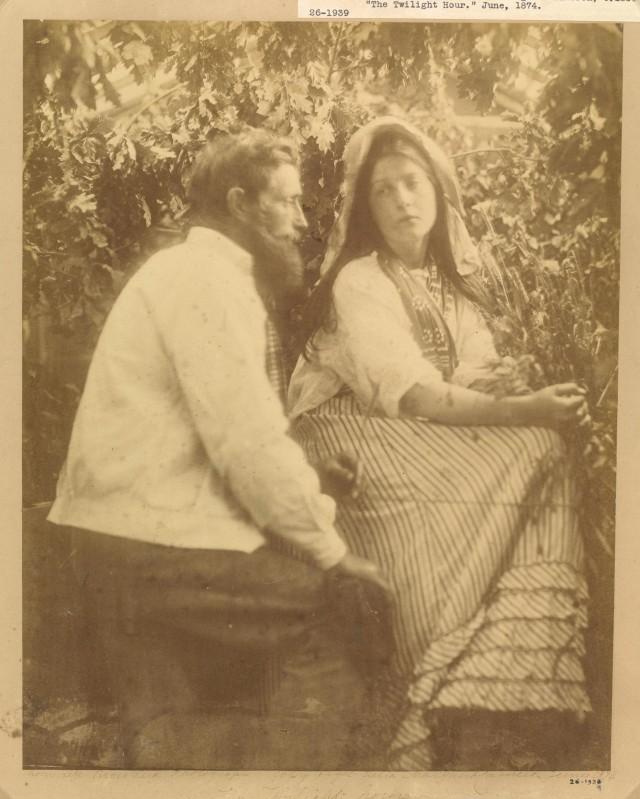 «Сумеречный час», 1874. Автор Джулия Маргарет Камерон