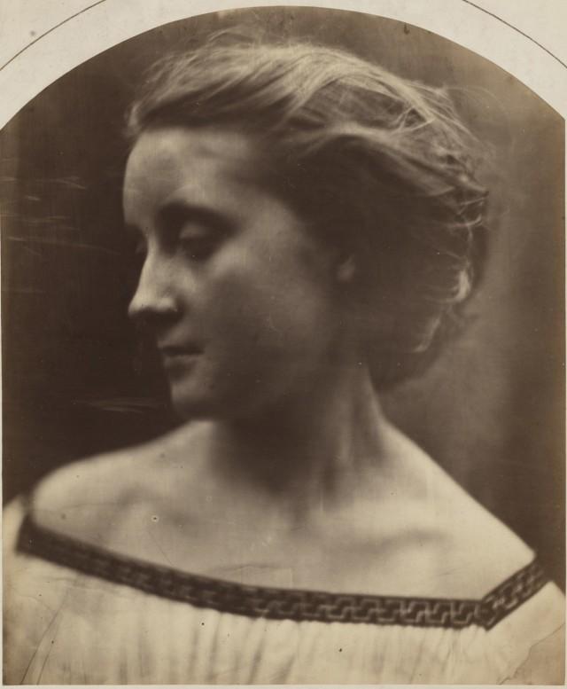 Женский портрет, 1867. Автор Джулия Маргарет Камерон