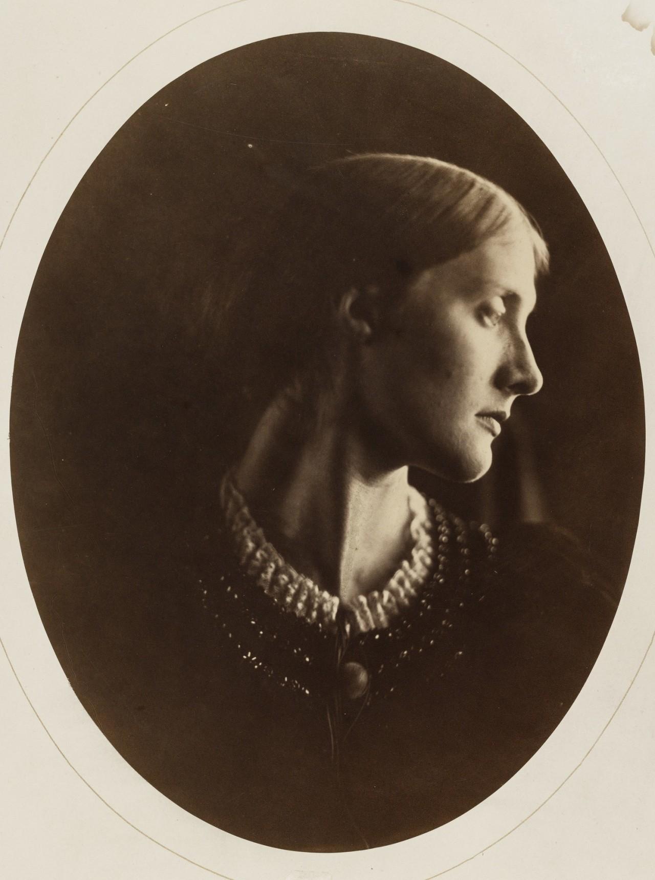 Миссис Дакворт, 1867. Автор Джулия Маргарет Камерон