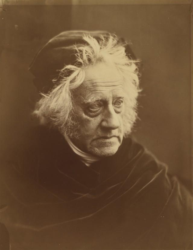 Полимат Джон Фредерик Уильям Гершель, 1867. Автор Джулия Маргарет Камерон