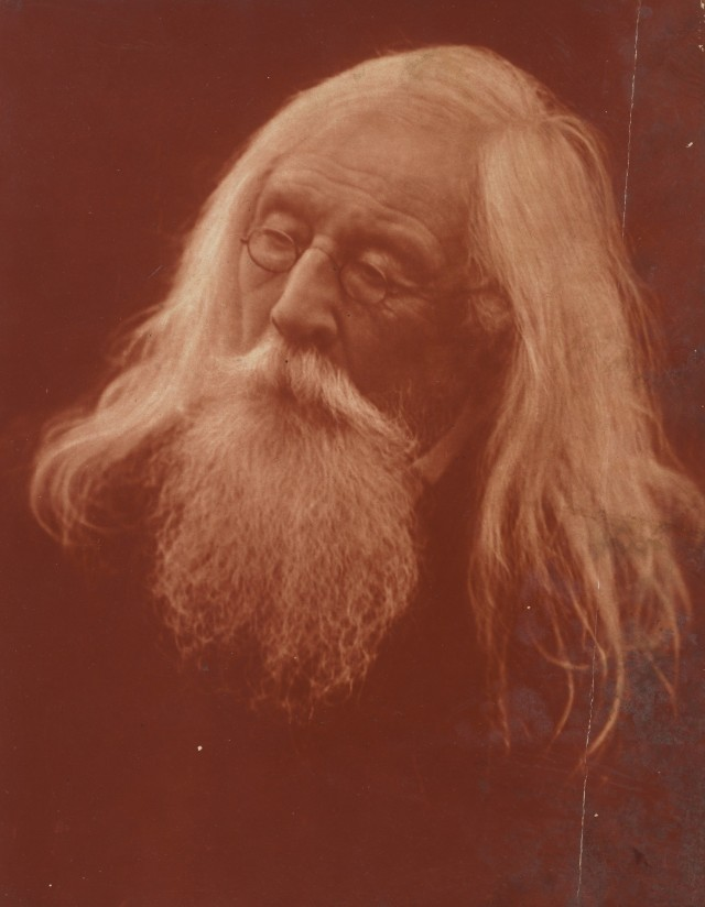 Портрет Чарльза Хэя Камерона, 1871. Автор Джулия Маргарет Камерон