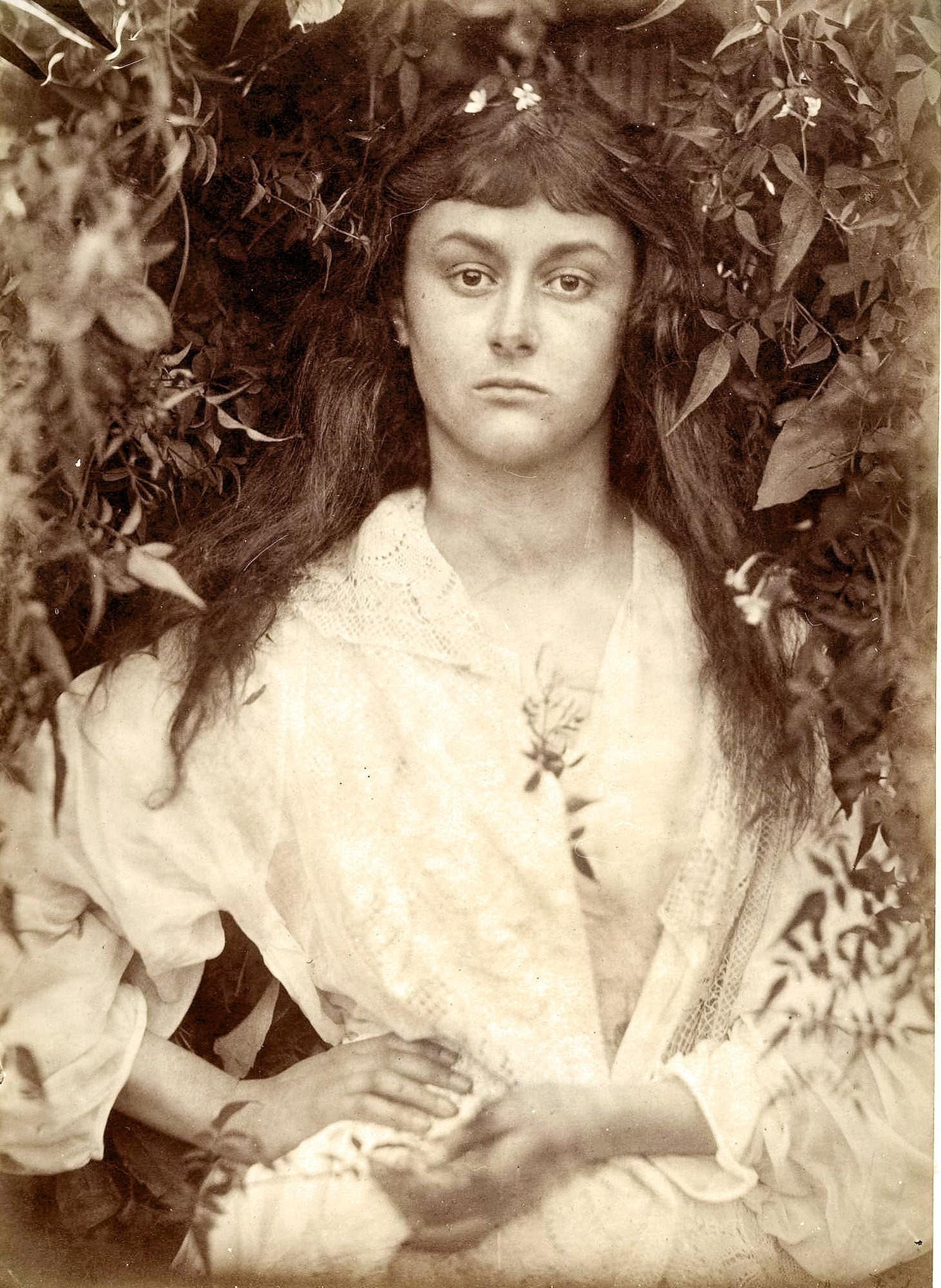 Алиса Лидделл, 1872. Автор Джулия Маргарет Камерон