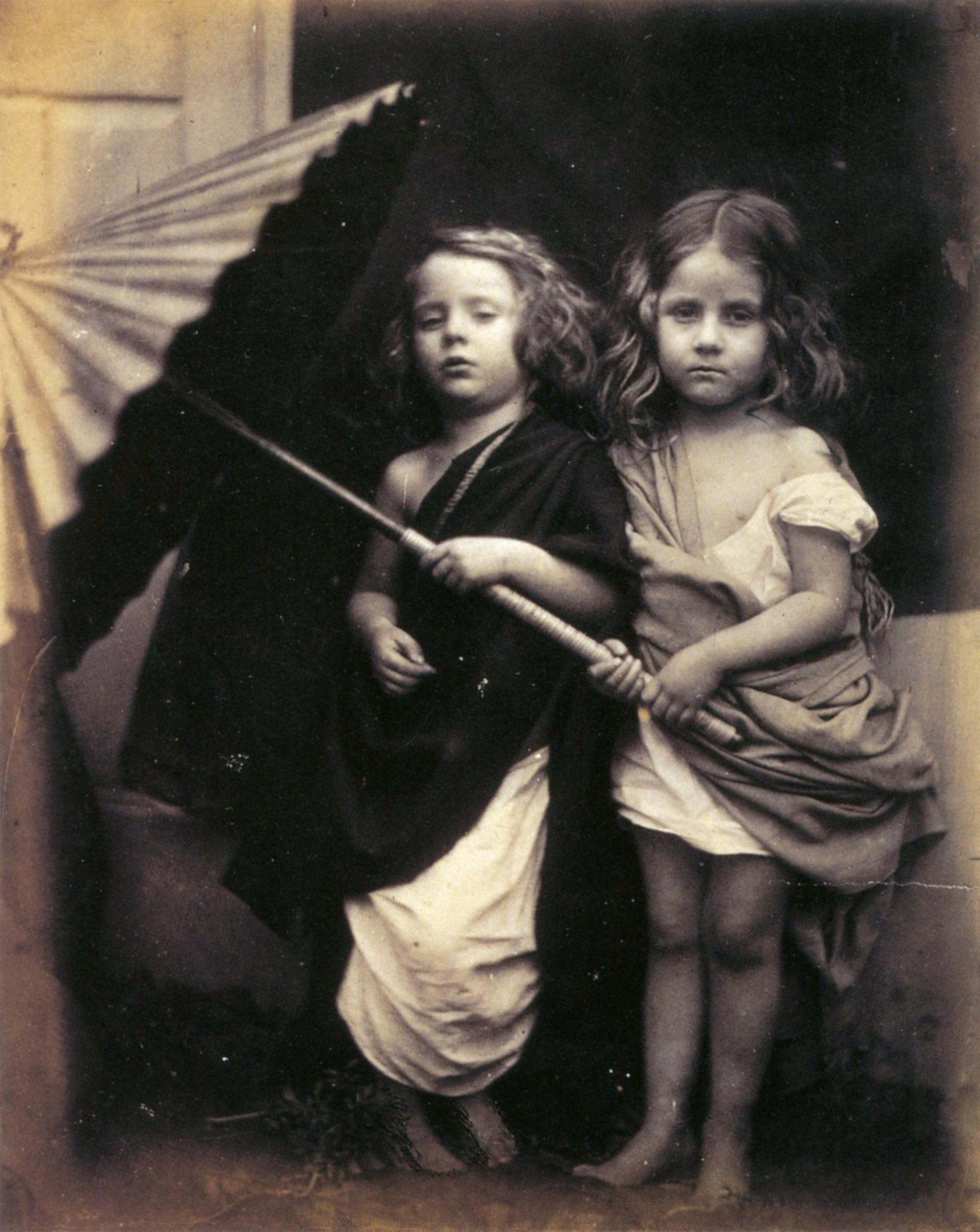 Пол и Вирджиния, 1864. Автор Джулия Маргарет Камерон