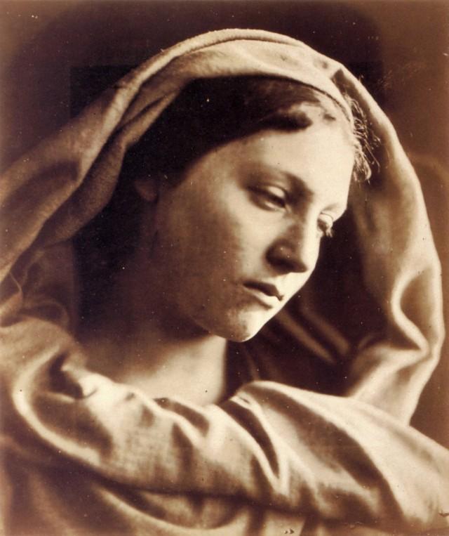 «Дева Мария». Автор Джулия Маргарет Камерон