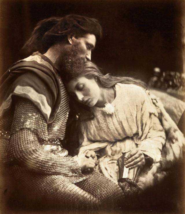 «Расставание Ланселота и Гвиневры», 1874. Автор Джулия Маргарет Камерон