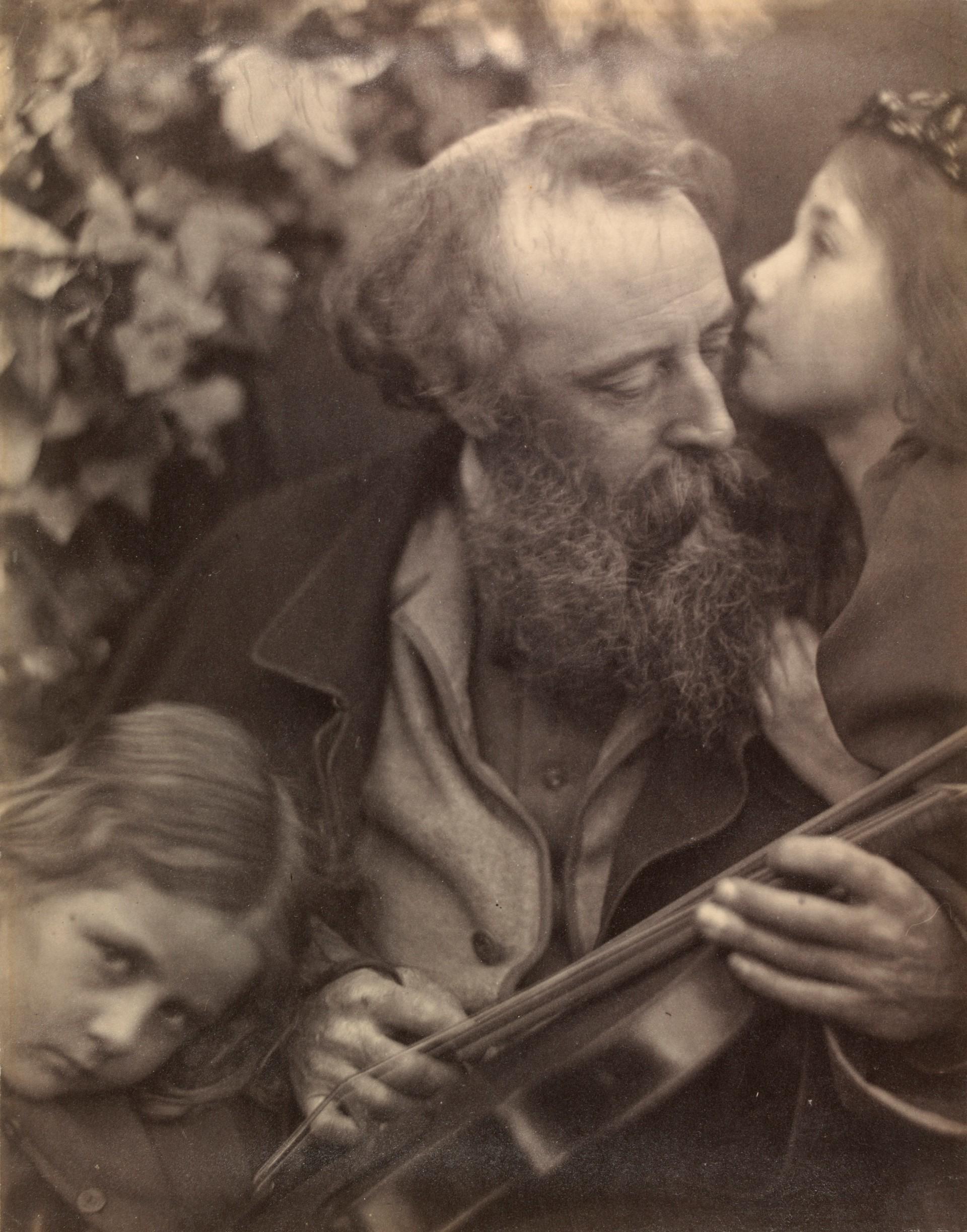 «Шепот музы», 1865. Автор Джулия Маргарет Камерон