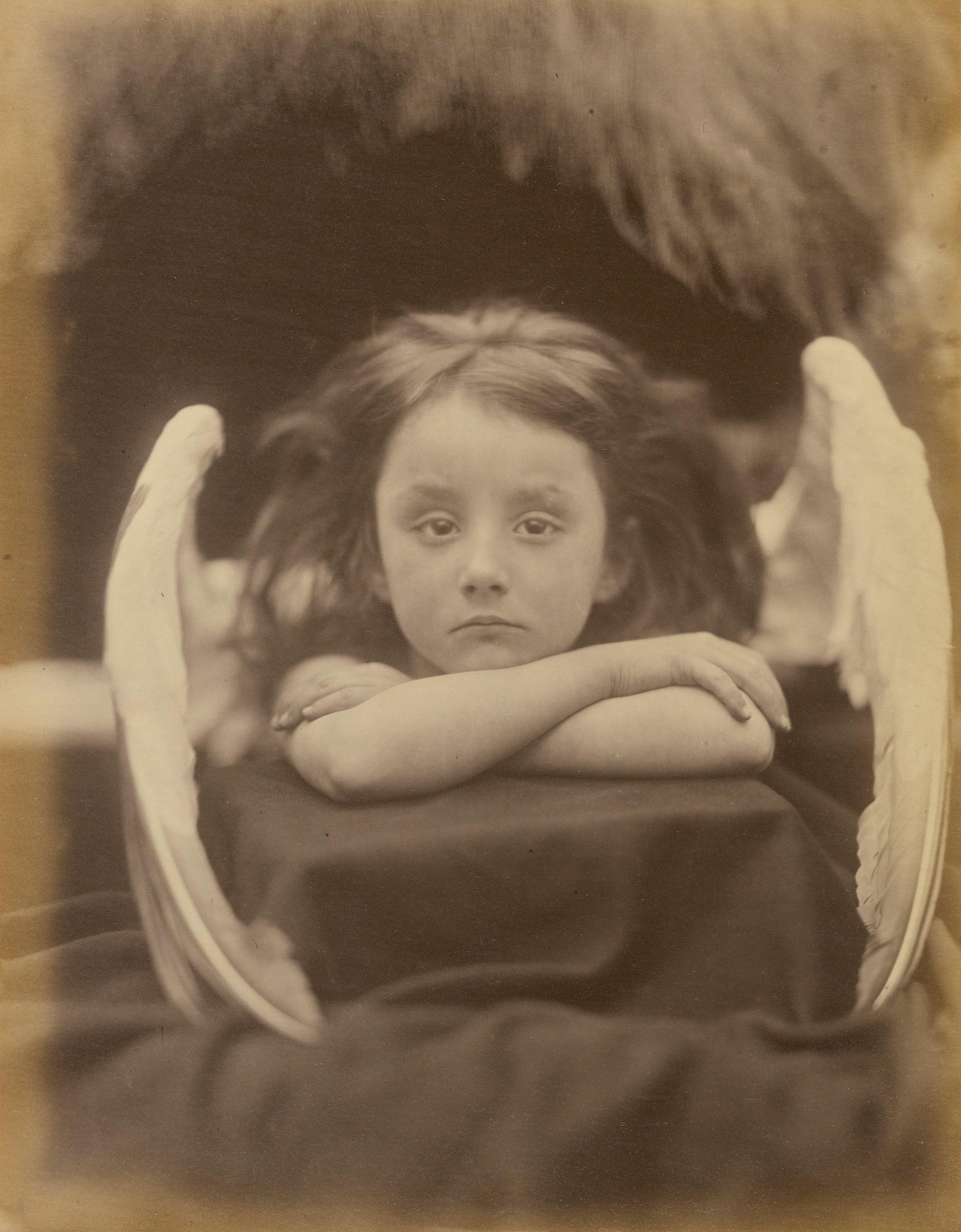 «Я жду» (Рэйчел Герни), 1872. Автор Джулия Маргарет Камерон