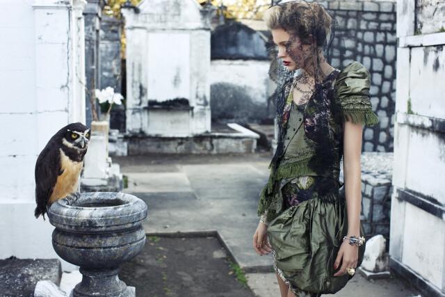 Кеке Линдгард, Vogue Espana, 2010. Автор Артур Элгорт