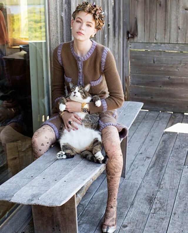Холли-Мэй Сэйкер (Hollie-May Saker), Vogue Netherlands, 2015. Автор Артур Элгорт
