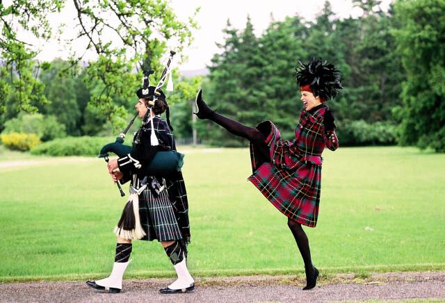 Линда Евангелиста, Шотландия, Vogue, 1991. Автор Артур Элгорт