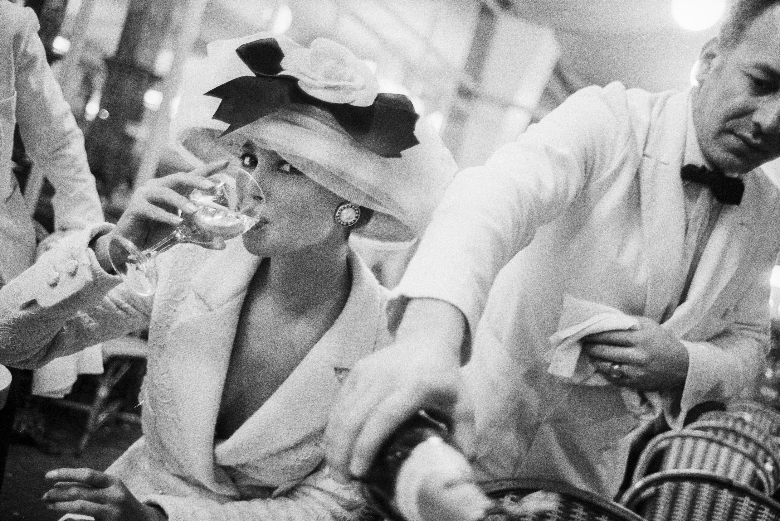 Кристи Тарлингтон, Париж, British Vogue, 1988. Автор Артур Элгорт
